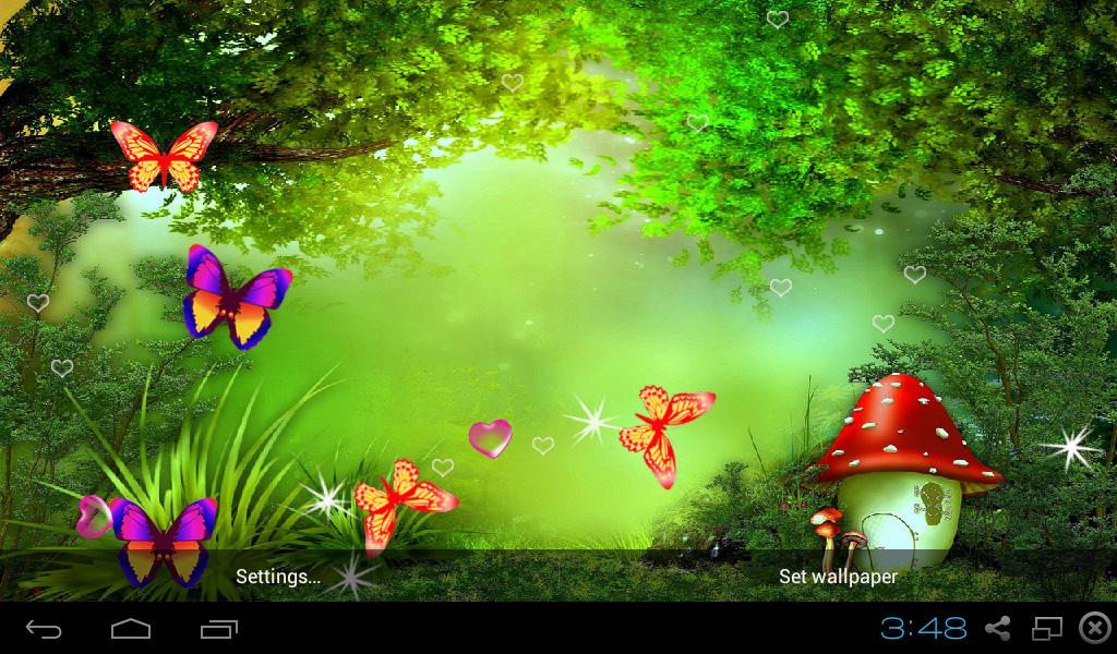 Fairy tale live wallpapers android apps on google play - Fairy wallpaper for android ...