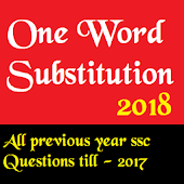 One Word substitution cgl-2018