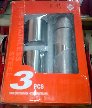 Photo: Stainless Steel Flask & Mug Set