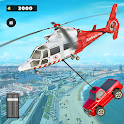 911 Helicopter Flying Rescue City Simulator icon