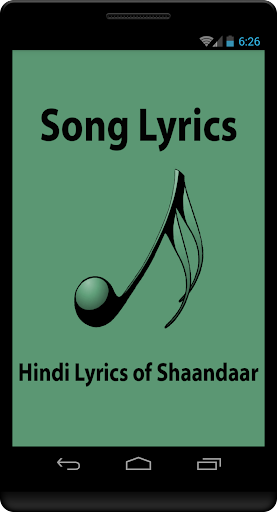 Hindi Lyrics of Shaandaar