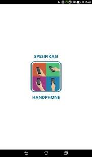 Spesifikasi Handphone - náhled