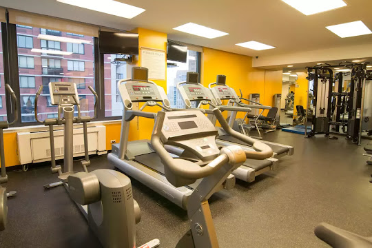 Gym at 1 Bedroom Apartment at Murray Hill