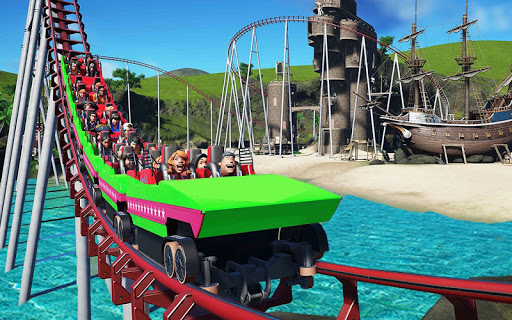 VR Water Roller Coaster Theme Park Ride  screenshots 7