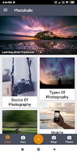 Download Photoholic - Photography Blogs, Stories, Tutorials For PC Windows and Mac apk screenshot 1