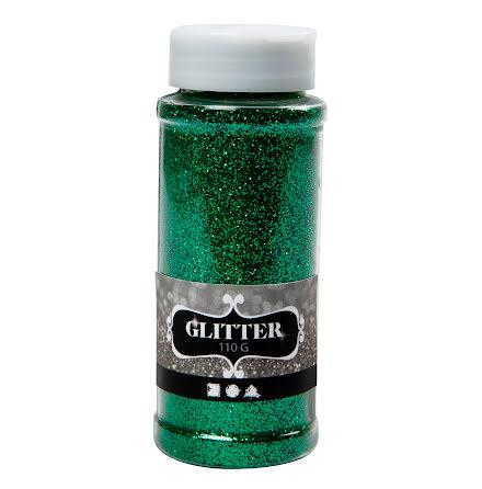 Glitter 110g grön