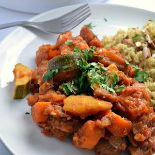 Red Lentil & Root Vegetable Tagine