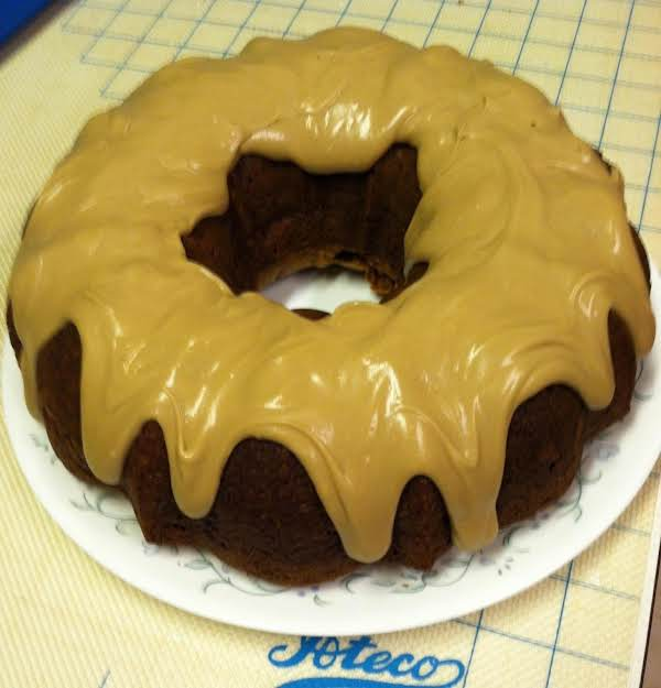 Apple Spice Bundt Cake With Maple Icing Recipe