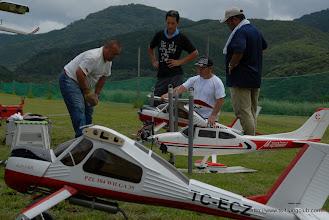 Photo: 手前は先週も登場したYさんWilga。奥は本日初飛行のAさんWilga
