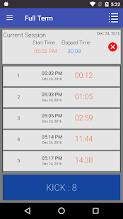 Full Term - Contraction Timer- screenshot thumbnail