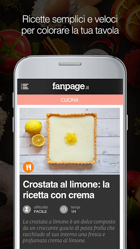 Le gustose ricette di cucina fanpage arrivano su android - Cucina fanpage secondi piatti ...