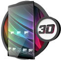 Glass theme & glass icon pack + amoled wallpapers icon
