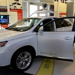 google self-driving car at computer history museum in silicon valley in Mountain View, California, United States