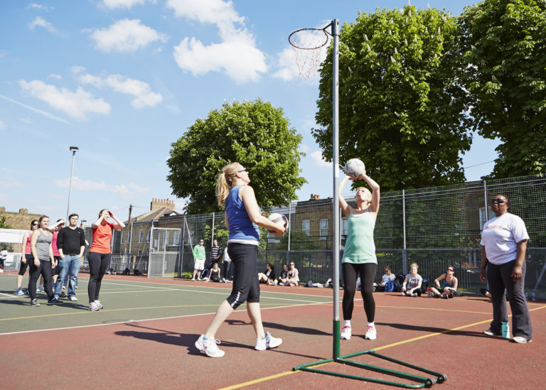NetBusters | GoSweat | Where to play Netball in Clapham?