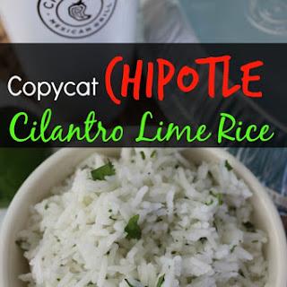 Copycat Chipotle Cilantro Lime Rice Recipe