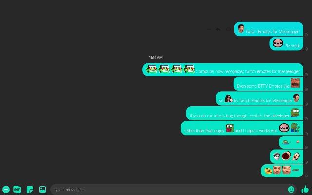 Twitch Emotes For Messenger