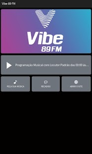 Rádio Vibe 89 FM- screenshot thumbnail