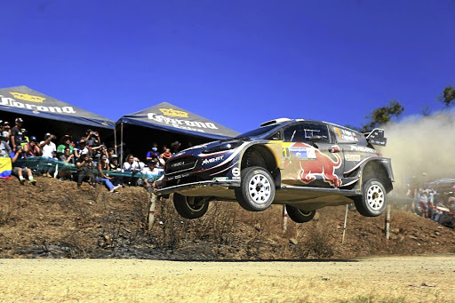 Sebastien Ogier took the win in Mexico in the M-Sport Ford Fiesta WRC. Picture: WRC