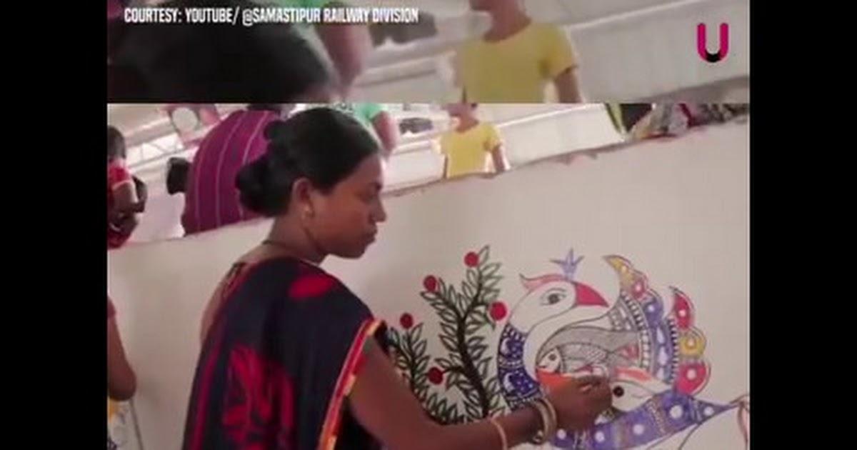 madhubanirlystnwithmadhubanipaintings_Video from ramyshar ramakrishnan