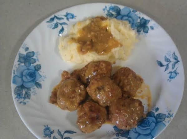 Turkey Meatballs With Gravy Recipe