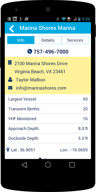 Waterway Guide Marinas- screenshot