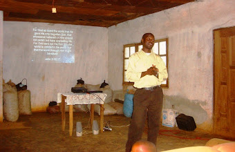 Photo: Film night at Living Water Baptist Church in Akum.