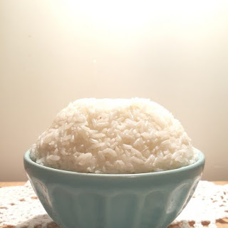 Pressure Cooker Ghee Rice.