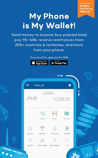 Coins ph Wallet - Revenue & Download estimates - Google Play