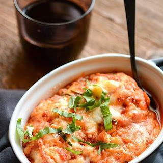 Slow Cooker Zucchini Lasagna.