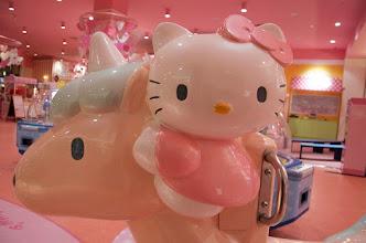 Photo: Hello Kitty on a Unicorn!