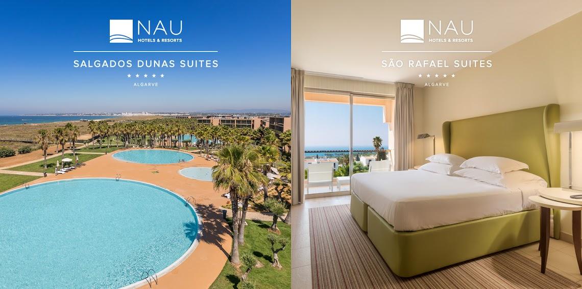 NAU Hotels & Resorts apresenta Salgados Dunas Suites e São Rafael Suites renovados