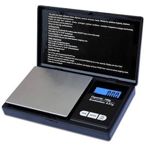 Mini cantar digital, capacitate 100 g, diviziune 0.01g