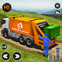 Offroad Garbage Truck: Dump Truck Driving Games icon