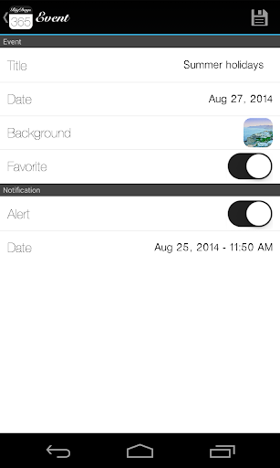 玩免費生活APP|下載Big Days Lite - 活動倒計時 app不用錢|硬是要APP