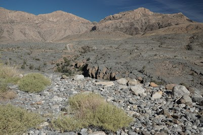 Abfahrt vom Jebel Shams