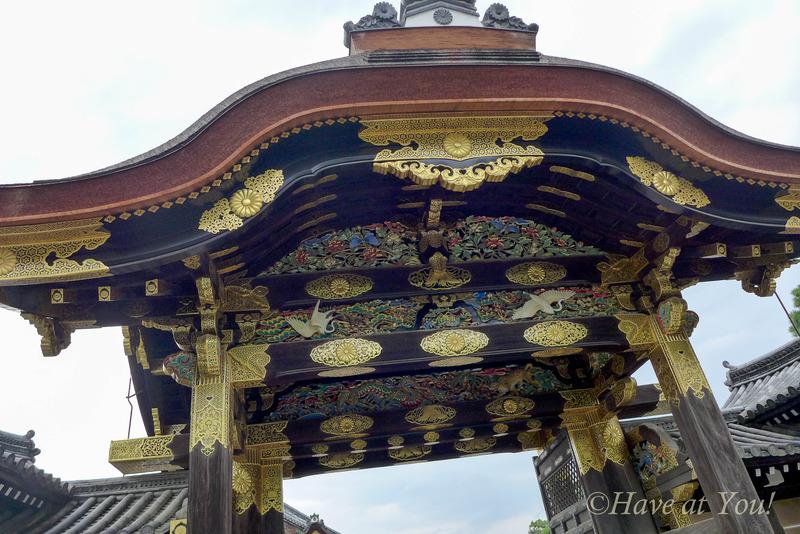 Karamon Gate at the Nijo Castle