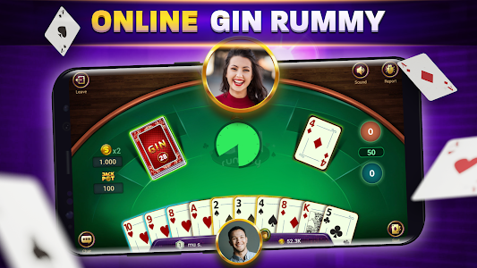 Gin Rummy Online - Free Card Game 1.4.3