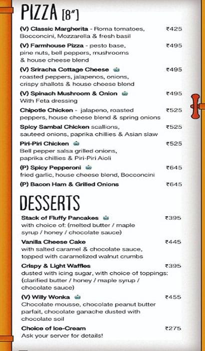 Brewbot Eatery & Pub Brewery menu 9