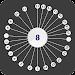 Pin Circle - Crazy Dots, Add Dots To Circle icon