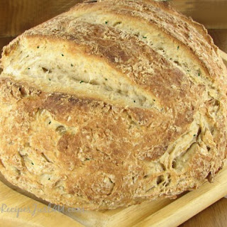 Crusty Herbed Italian Bread.