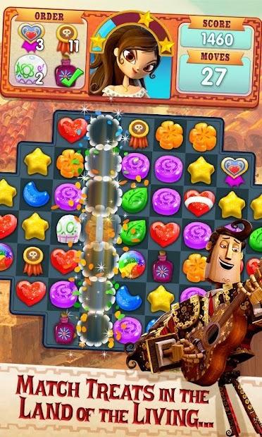 Sugar Smash: Book of Life - Free Match 3 Games. Android App Screenshot