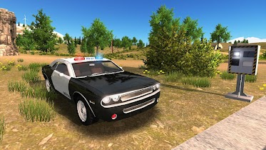 Police Car Driving Offroad - screenshot thumbnail 11