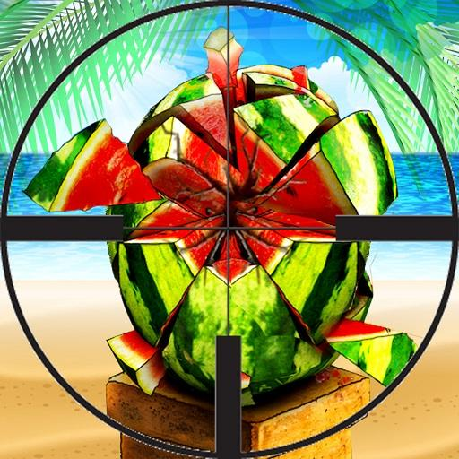 Watermelon Shooting 3D - Fruit Archery Shooter 2 Icon