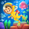 Kiddos under the Sea : Fun Early Learning Games icon