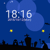 Halloween dot watch wallpaper