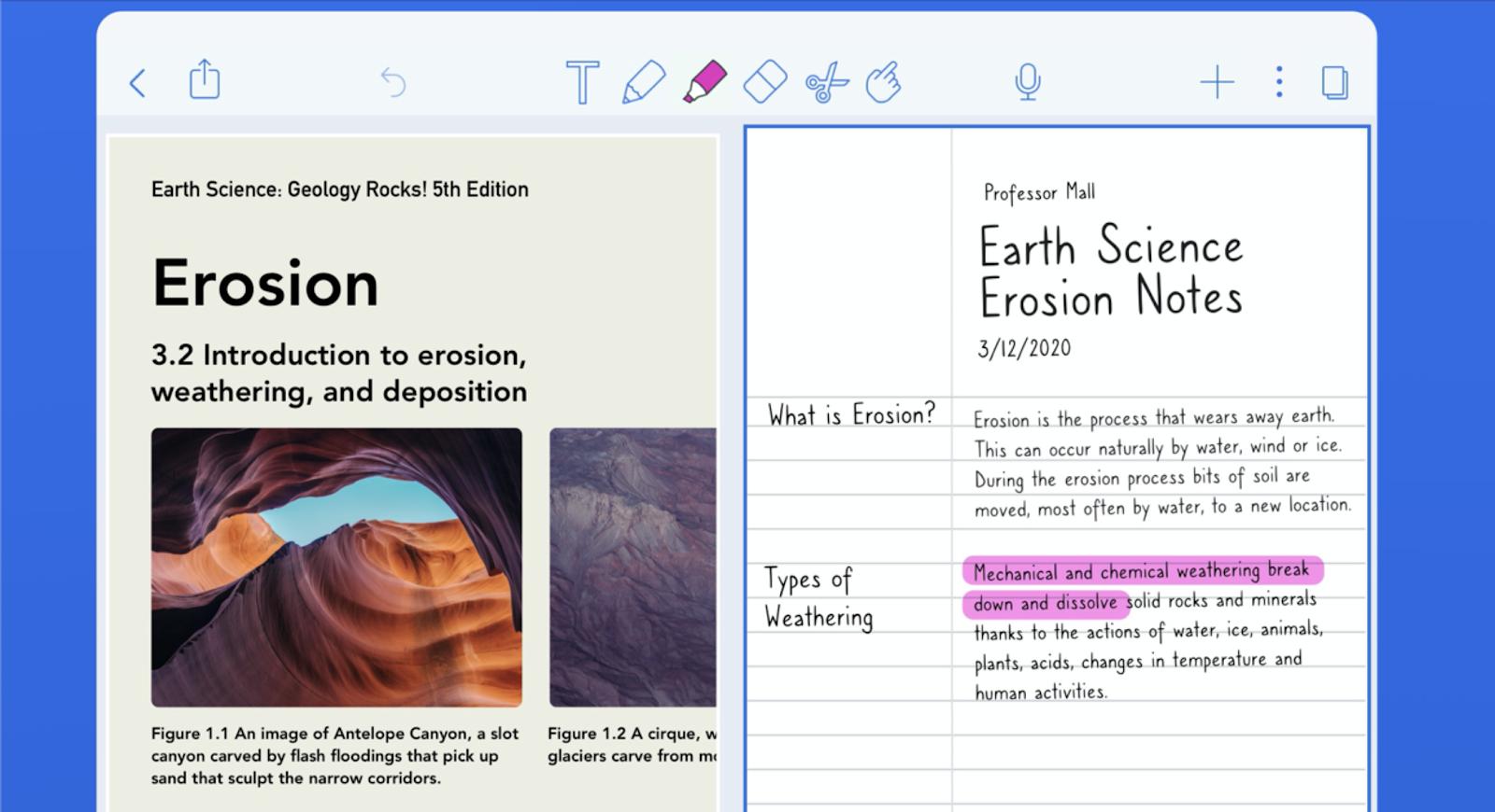6 แอพจดบันทึก-เลคเชอร์ เขียนหนังสือ สำหรับ iPhone และ iPad
