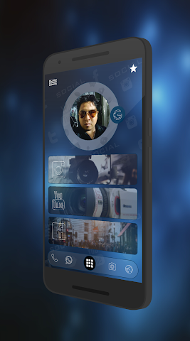 android Curval Wave for KLWP Screenshot 2