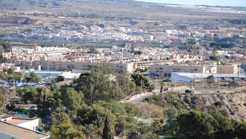 Panorámica de Huércal de Almería.