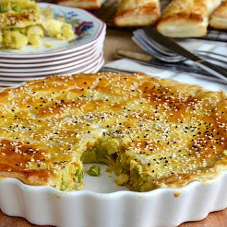 Chicken Curry Pie and Puffs Recipe