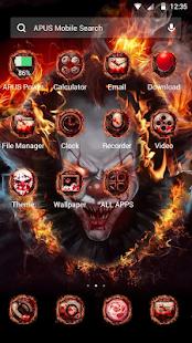 Evil Flame Scary Clown Theme